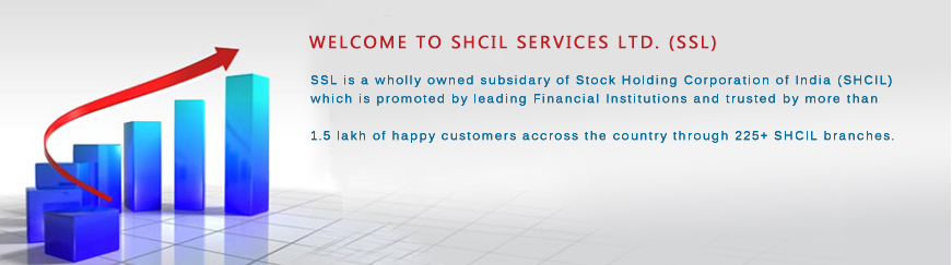 SHCIL Services Ltd (SSL) - SEBI Registered Corporate Stock Broker